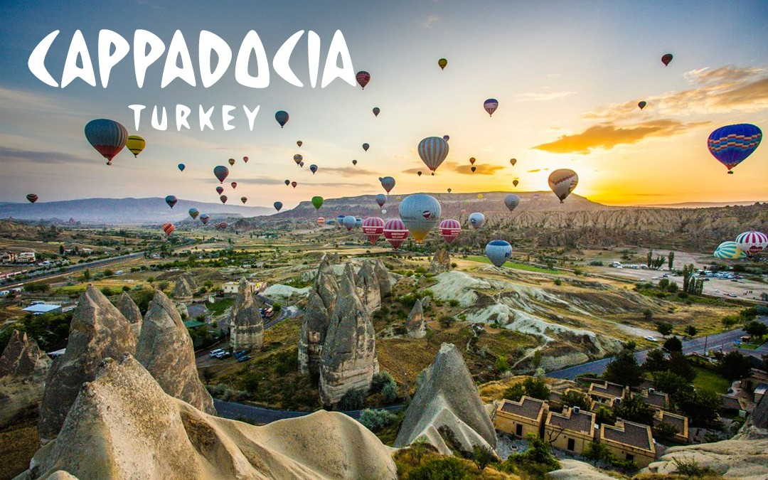 CALI4TRAVEL - hot air balloon Cappadocia