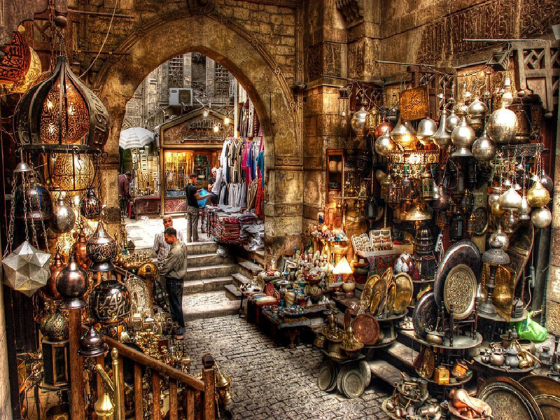 Cali4travel-Egypt Day Tour-khan el khalili egypt