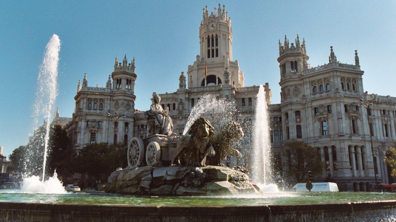 Plaza de Cibeles - plaza de Cibeles