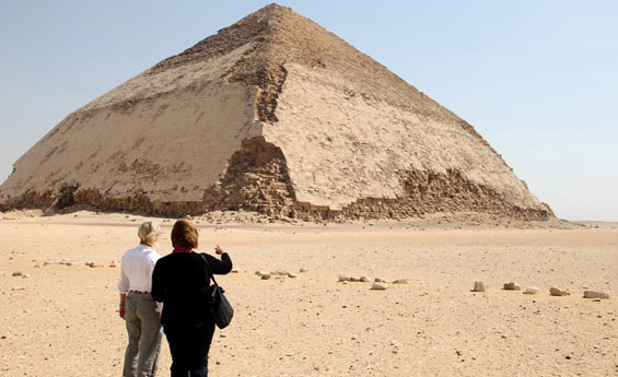 Cali4travel-Egypt Day Tour-bent pyramid