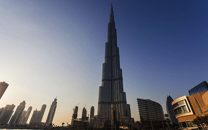 cali4travel - The Burj Khalifa known as the Burj Dubai