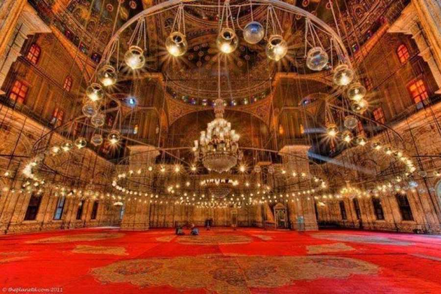Cali4travel-Egypt Day Tour-alabaster mosque in cairo