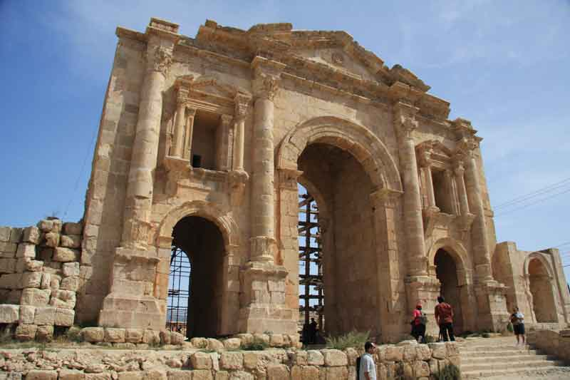 cali4travel - arch of hadrian